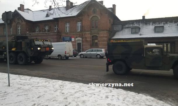 Amerykańska armia w Skwierzyna Polska